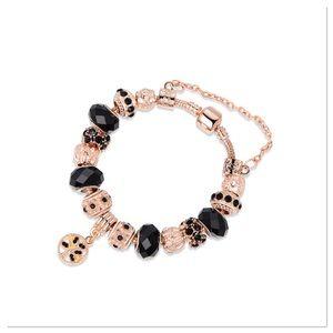 Cubic Zirconia Charm Bracelet